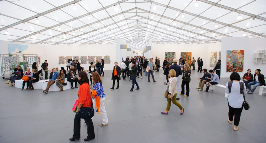 Frieze New York 2012. Photograph by Graham Carlow. Courtesy of Graham Carlow/ Frieze.