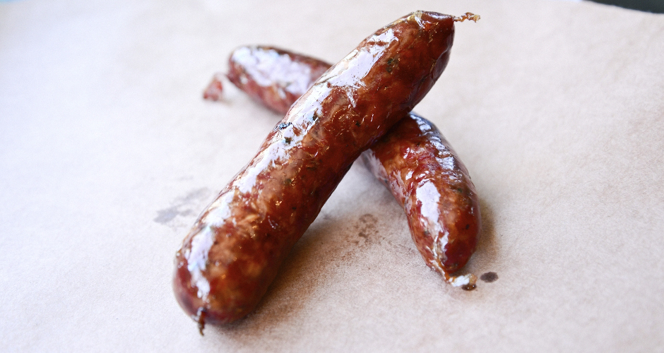 The Franklin sausage.