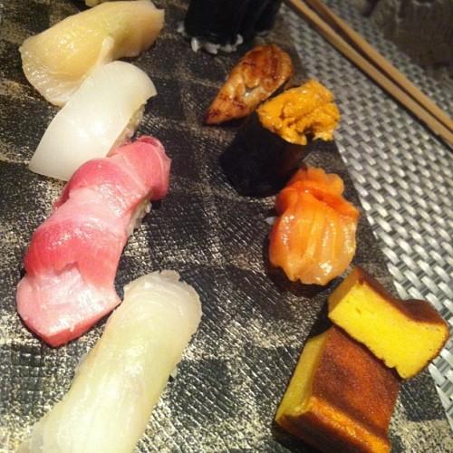 More where that tuna came from: Sushi Tairyoko in Harajuku.
