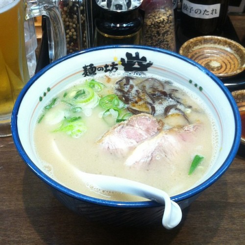 Tonkotsu from Toride, one of the nine regional ramen shops with outposts inside the Ramen Museum.