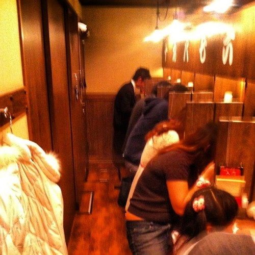 At the Ichiran ramen chain, everyone gets an individual cubicle...