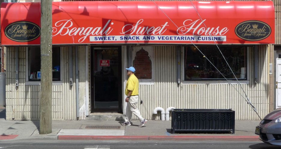 Finish up with some sweets like barfi and halwa from Bengali Sweet House (836 Newark Avenue, 201-798-9240).