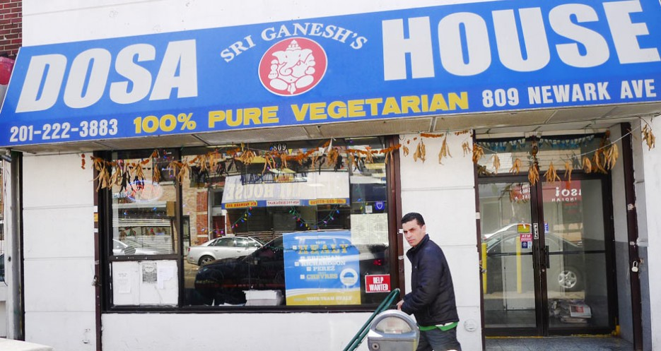Sri Ganesha's Dosa House (809 Newark Avenue, 201-222-3883) is one of several places selling dosas, utthapam (flat, pizza-like pancakes), iddly (spongy rice dumplings), and uppma (a spice-studded cream of wheat). This is one of the New York area's best brunch spots.