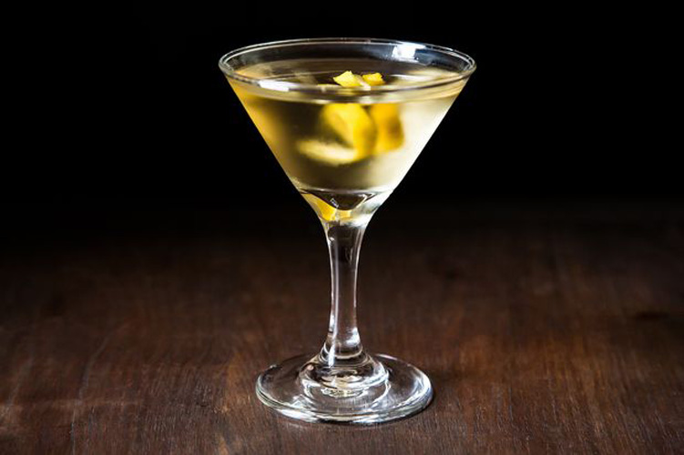 Martini. Gin and stirred, this drink is the most classic cocktail of all.