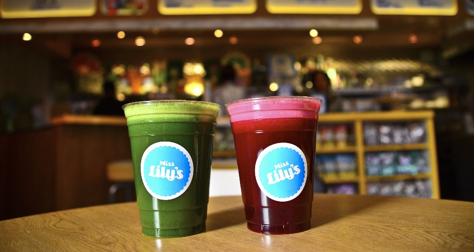 Juices at Melvin's Juice Box (photo: Liz Barclay)