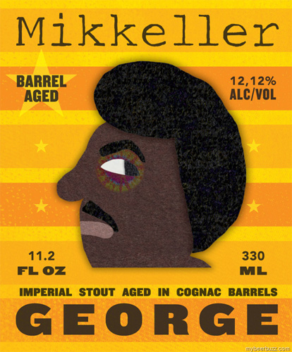 Mikkeler does it again. This feels like a boxing poster—and at 12.12% ABV, you probably feel like you've been in a fight after drinking it.