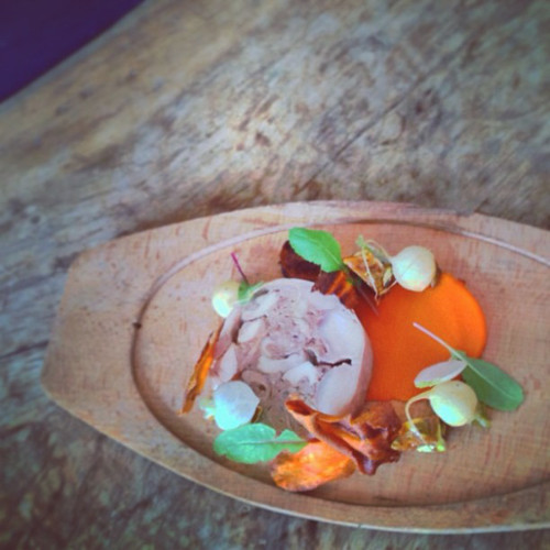 We'd be mad at @richardblais for serving a bunny terrine on Easter. But that would be impossible.