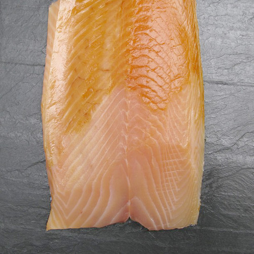 """@russanddaughters caught you a """"rare gastronomic experience"""": wild Baltic smoked salmon."""