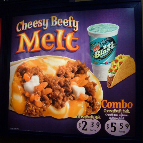 Would you have bought it if it was just the Cheese-Beef Melt?