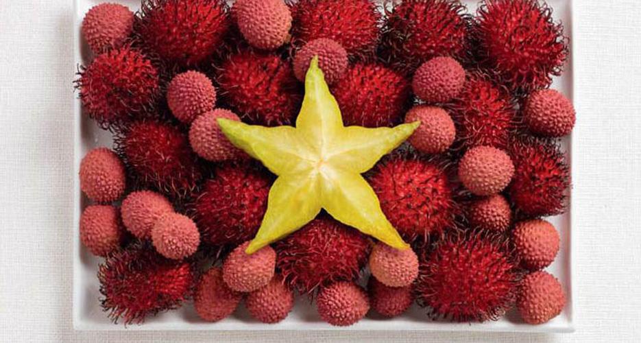 Vietnam (rambutan, lychee, starfruit)