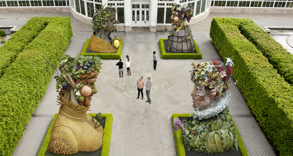 "Philip Haas' ""Four Seasons"" (photo: The New York Botanical Garden)"