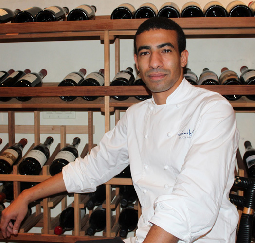 Milton Abel: former sous chef in pastry at noma; head pastry chef at The French Laundry in California (