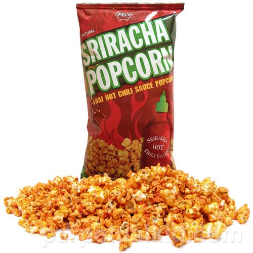 Sriracha Popcorn. $3.99 at