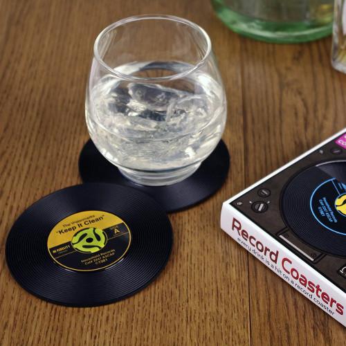 Record Coasters. $15.