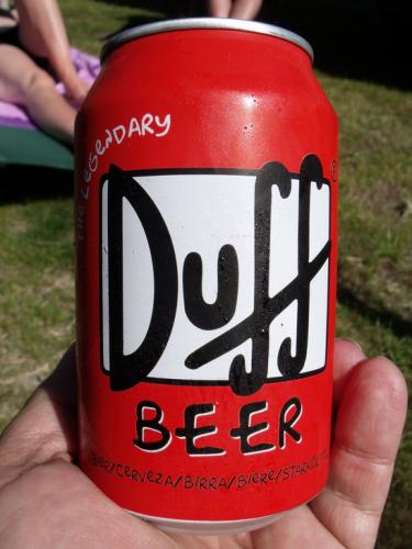 German Duff Beer. (Photo: Flickr)