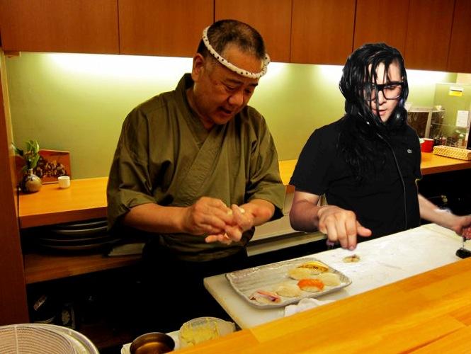 Skrillo dreams of sushi part I