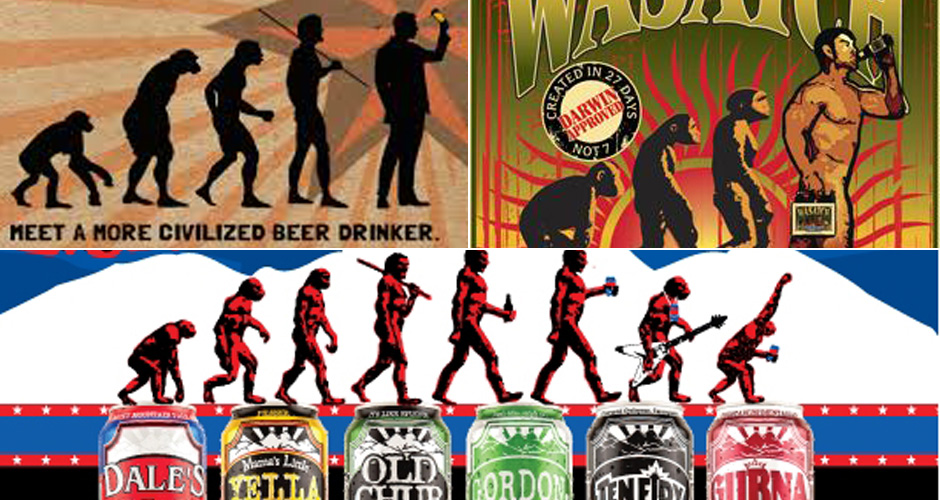 Click through the gallery to follow the evolution of a beer nerd.