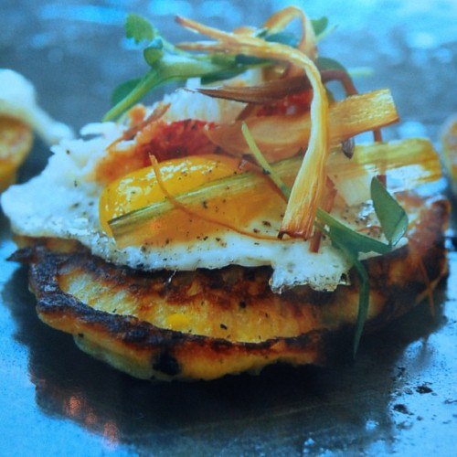Lobster corn pancakes with a quail egg is how Vegas does brunch. Oh, and Susan Feniger. (Photo: @bordergrill)
