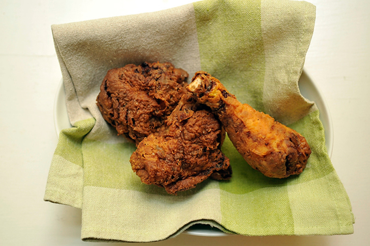 Southern Buttermilk Bathed Fried Chicken. It's hard to mention regional American cuisines without immediately thinking of fried chicken, and we think this recipe yields the ultimate version. The result is an intensely flavorful and expertly spiced chicken with a crisp, dark skin. Just how it should be. Get the recipe.