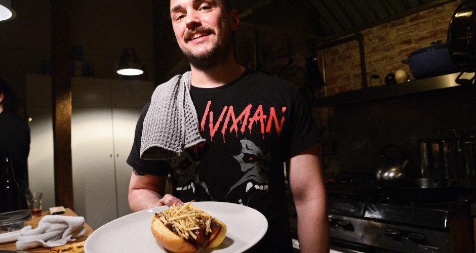 Make next-level hot dogs. For inspiration, we present the Dieselboy