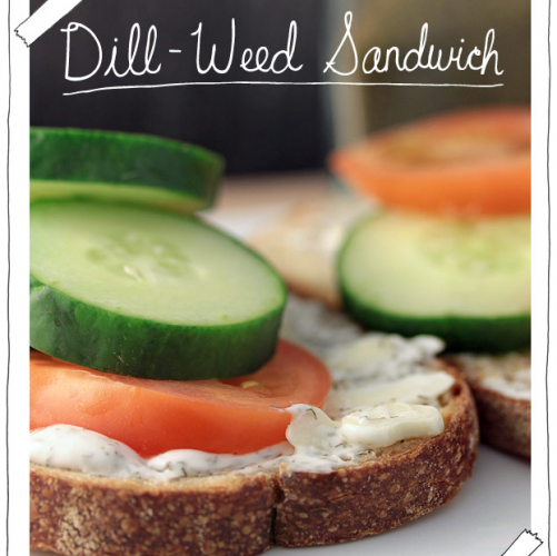 Brunch! Tea! These sandwiches will make you want to yell dainty things.