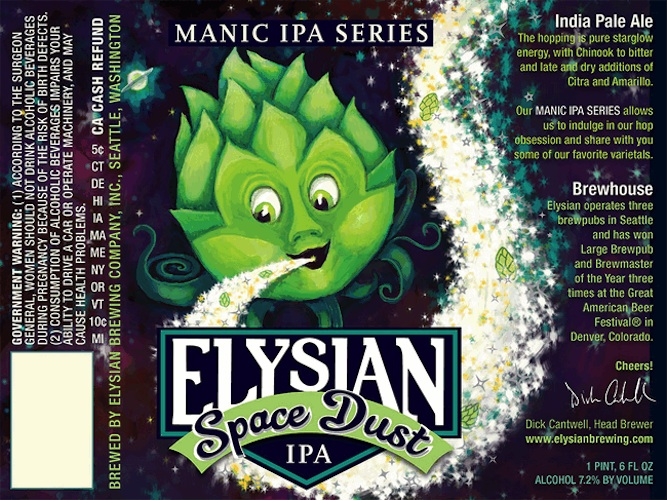 I'd like to believe there's an undiscovered planet out there made of hops.