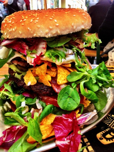 We'd like to name this hopeless mess the Ferngully Burger.