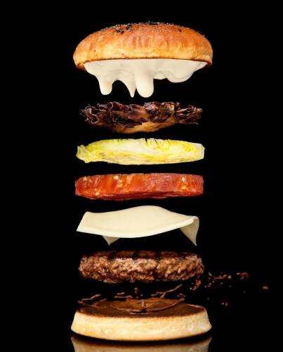Falling burger ingredients is the essence of drama.