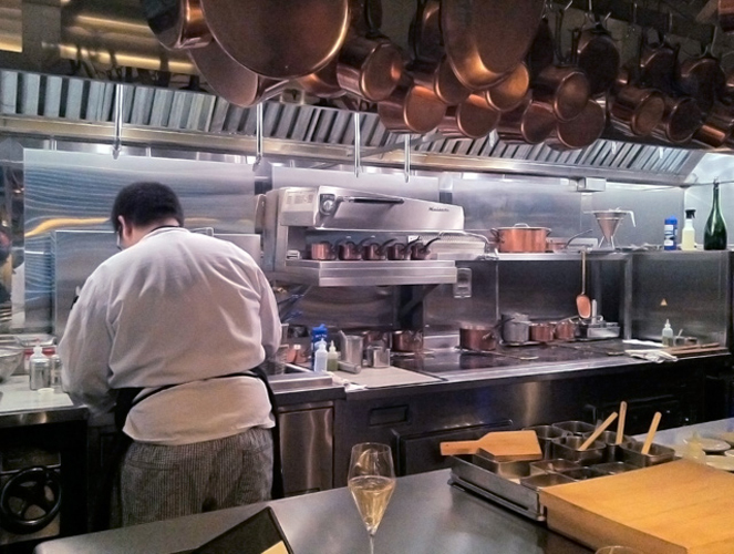 """Stein says good execution does not save the """"banal"""" ideas at Brooklyn Fare. (Photo: flickr/Mark & Andrea Busse)"""