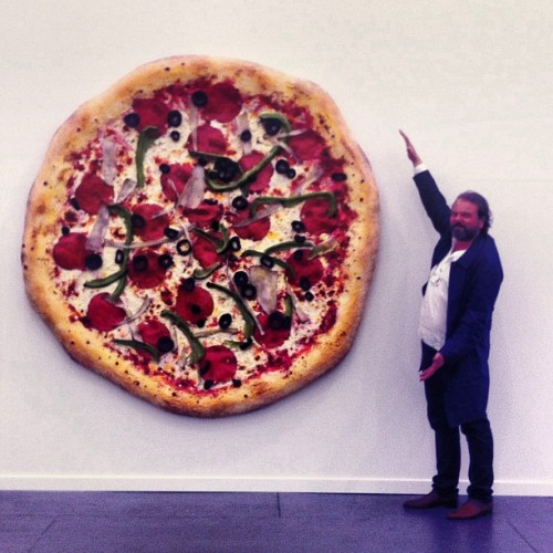 Hands down the best part of Frieze. (Photo: @frankcastronovo)