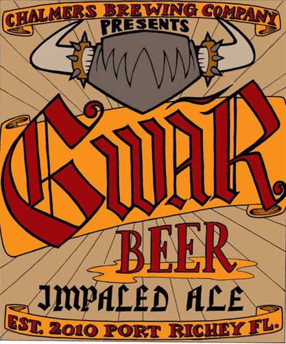 "Gwar x craft beer x ""impaled ale"" = everything."