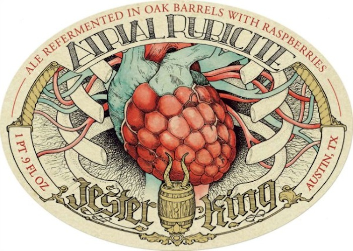 Jester King: Another brewery to watch this year, for both farmhouse-style suds and awesome art.