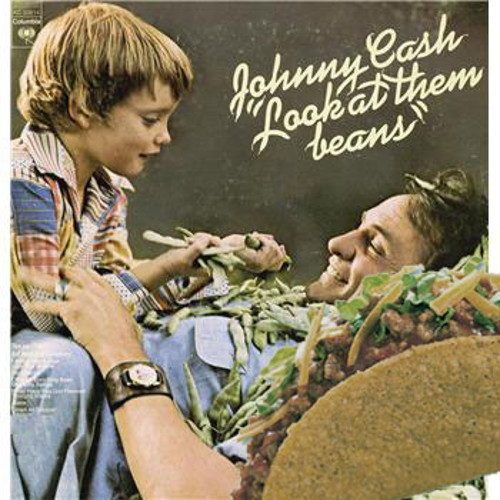 Johnny Cash set himself up for this one.