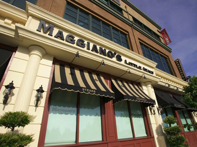 Maggiano's Little Italy is America's top chain restaurant for this year. (Photo)