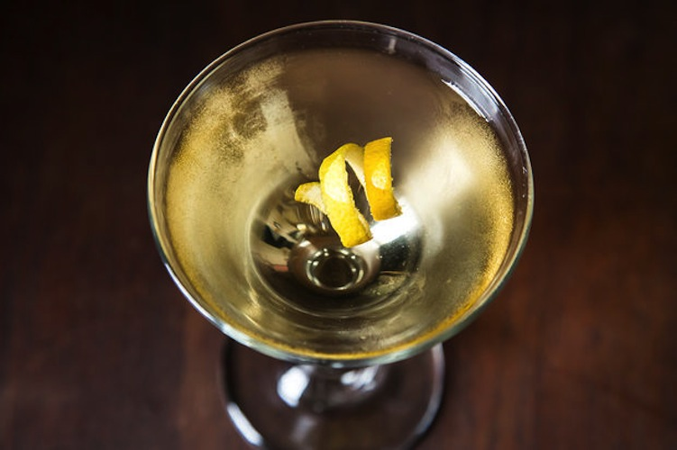 Classic Martini. Gin and stirred, this drink is the most classic cocktail of all.