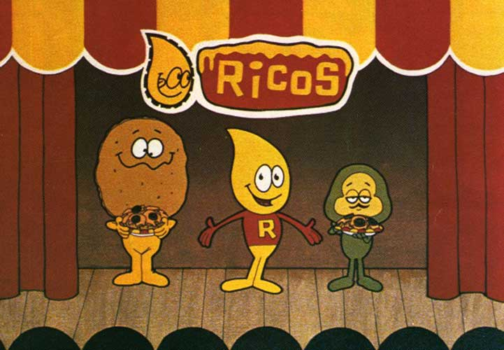 Walt Disney animators created a trailer featuring Nacho, Rico, and Pepe for play during movie intermissions during the '70s.