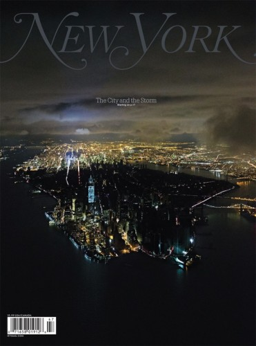 """Cover of the Year: New York's """"The City and The Storm,"""" as taken by Iwan Baan"""