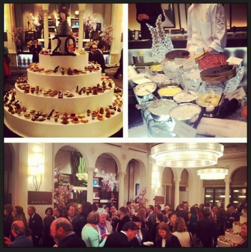 Restaurant Daniel had to go Pic Stitch mode to show all the party happenings from the 20th anniversary of Daniel Boulud's flagship restaurant.