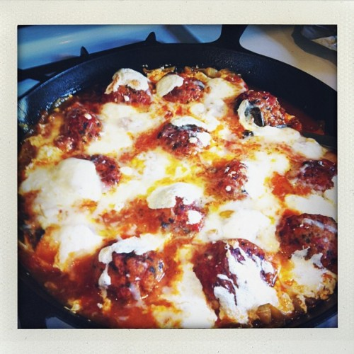 """In the words of @shawliza, """"eggs, balls, purgatory, shakshuka, delixiois."""" Typo accepted."""