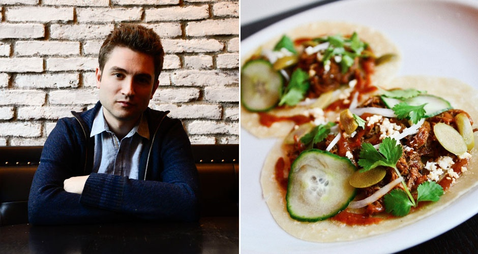 Alex Stupak, Empellon Cocina. Nominated for Best New Restaurant.