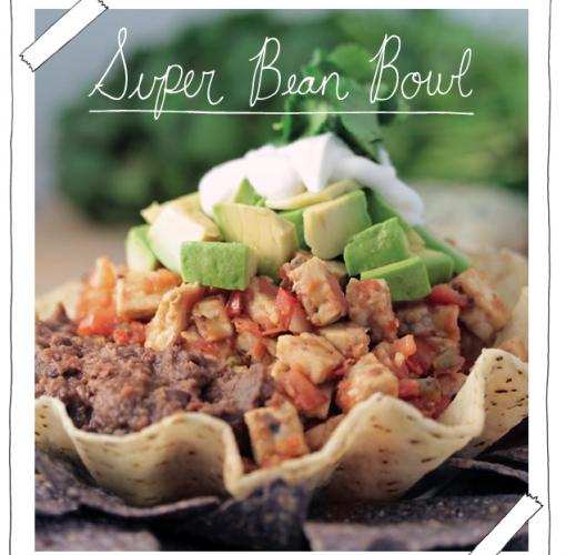 Tempeh also makes a bomb super bean bowl, apparently.