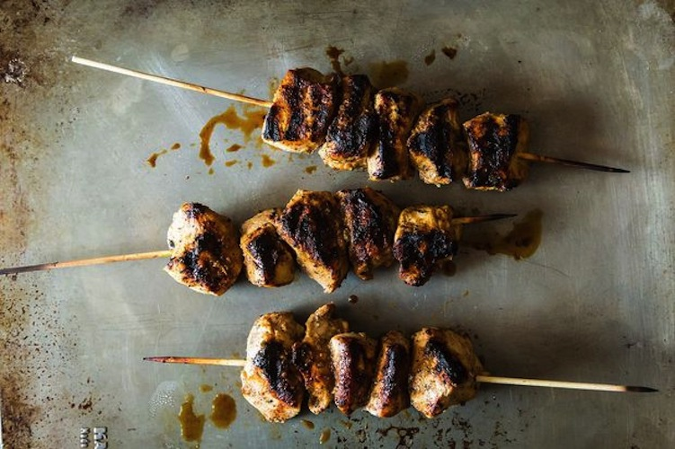 Jerk Chicken Kebabs. The jerk marinade calls on citrus to temper and enhance the bite of the sometimes-unruly habanero pepper. A little sweet, a little hot, and totally addictive.