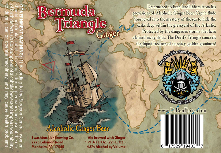 I'd follow a treasure map around the world to find some alcoholic ginger beer.
