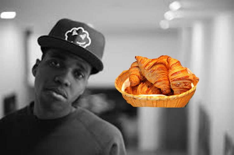 "Curren$y, ""Sail On""  ""Parking near the boat launch in Paris / Spending french bread / Nigga croissants / I got a flow that you can sail on."" Listen"