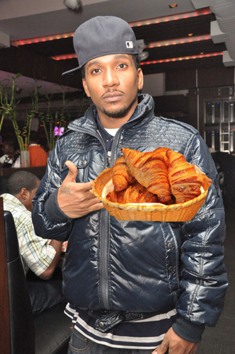 "CyHi Da Prince, ""Kick Back Music""  ""I'm all about the bread, bagels and croissants / Shit I might just go to Turks and Caicos for a month."" Listen"
