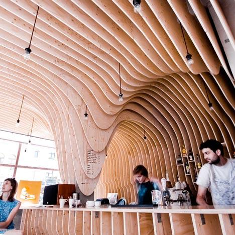 Zmianatematu coffee shop, Poland.