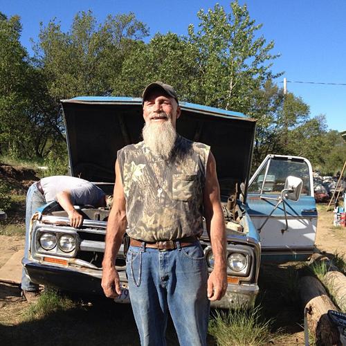 """John Biskey has been a fisherman in Bristol Bay, Alaska since 1982. We share a bunkhouse here in Naknek."""