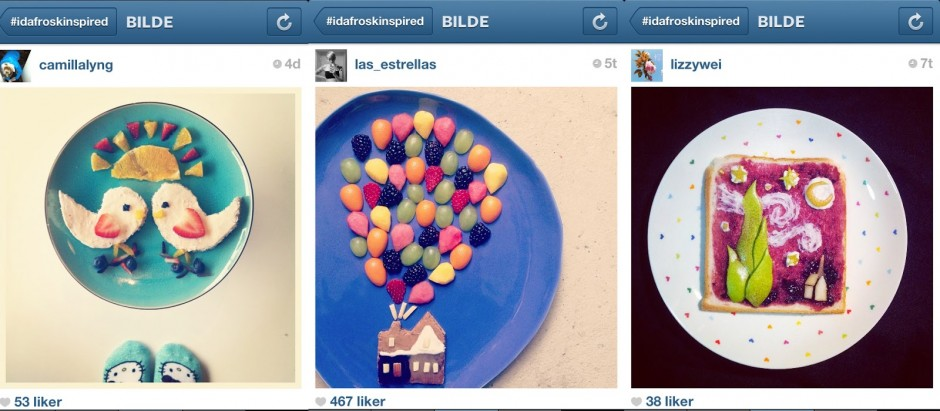Sometimes her Instagram fans replicate her art for contests.