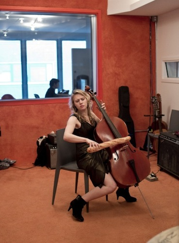 Kate McKinnon, cello virtuoso and bread enthusiast.