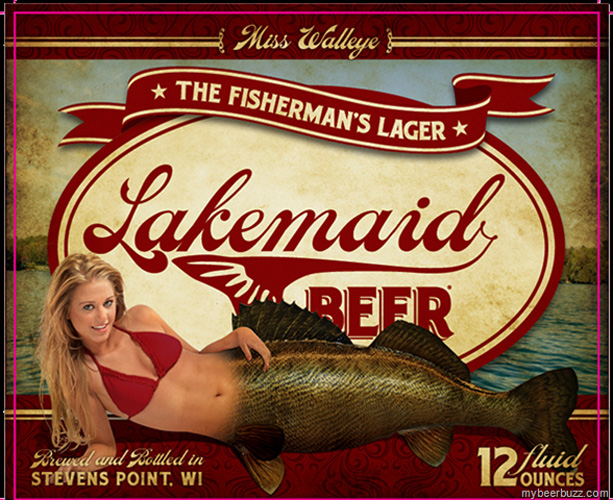 """The """"So Bad It's Good"""" Award goes to Lakemaid, which has made a series of labels that look like they belong in a charity bikini calendar from Door County."""